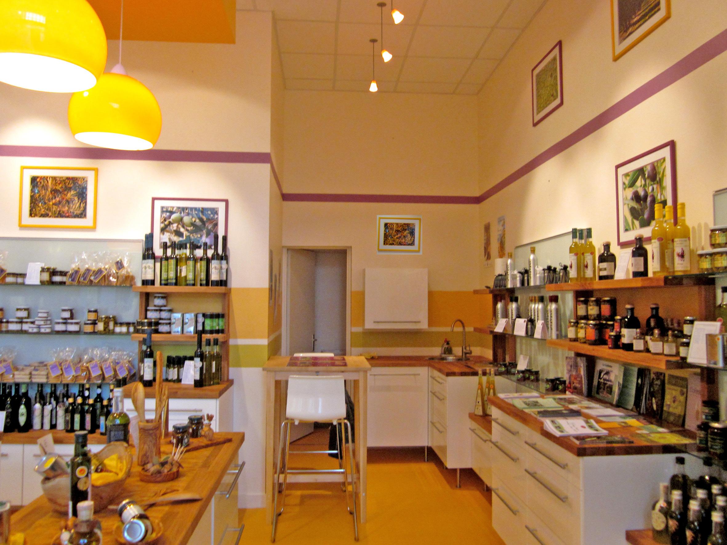 Bien connu Agencement | Brest | Agencement de magasin : Fruités d'Olives à  ED08