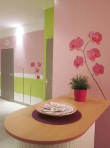 Agencement et décoration près de Brest cabinet profession para médicale ESPACE CAFE/THE
