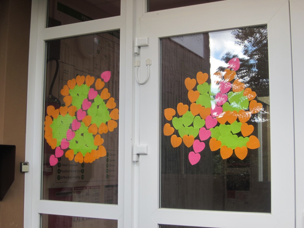 Post-it war à Brest Papillon Déco & Com lance la bataille