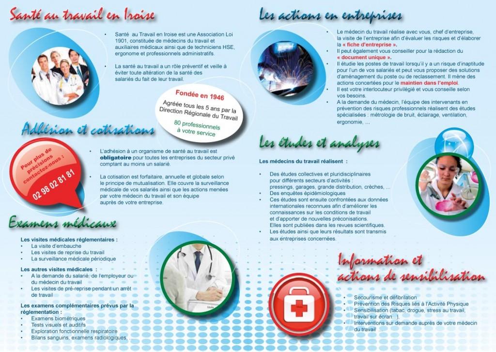 Création plaquette d'entreprise (Brest) STI