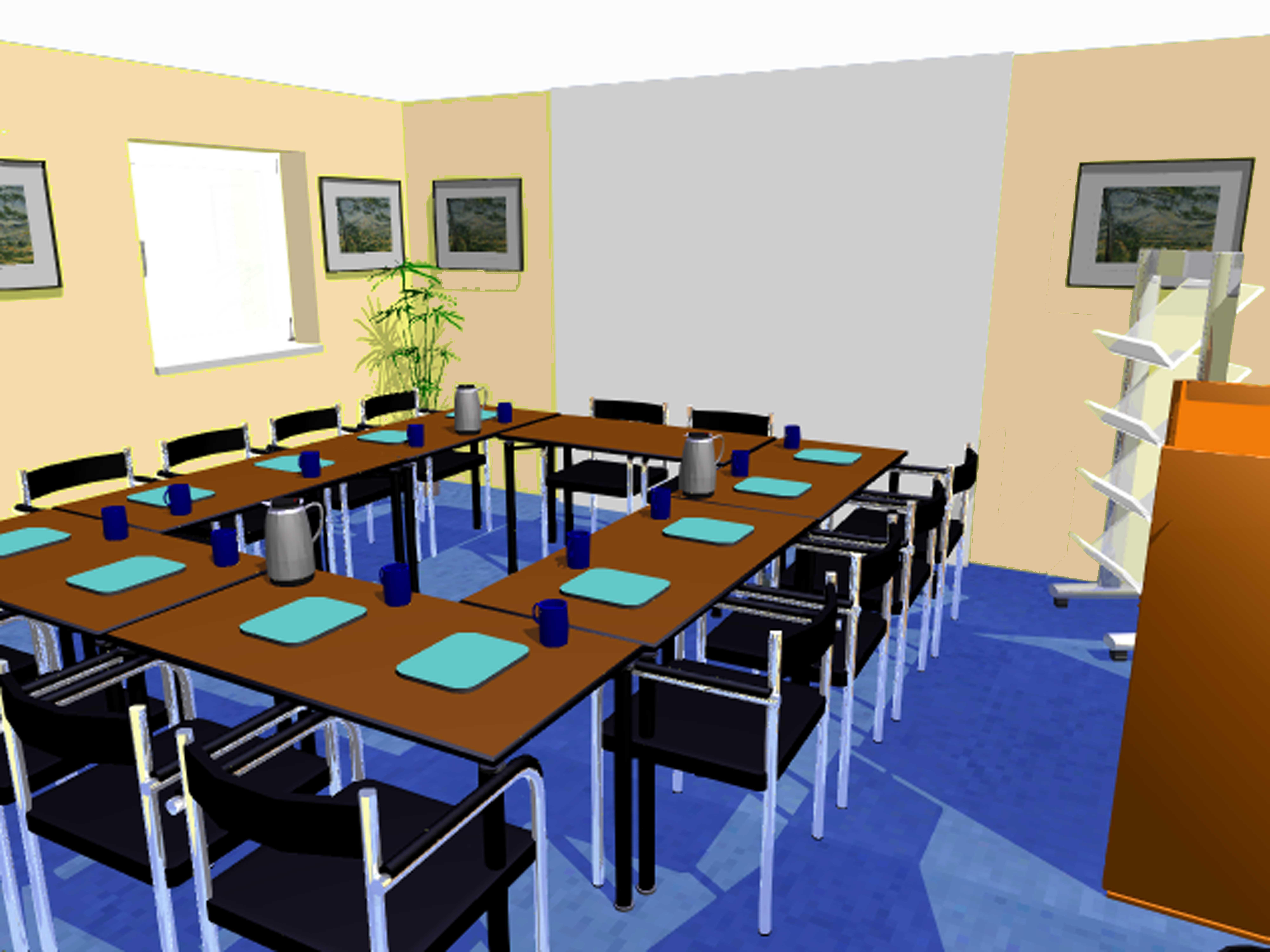 Agencement brest agencement et d coration d entreprise for Decoration salle de reunion