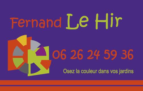 Création carte de visite pour un paysagiste (Brest) par Papillon Déco & Com