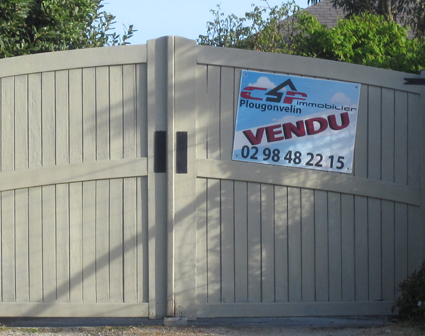 creation de IMMOBILIER PANNEAUX  AKYLUX (Brest)