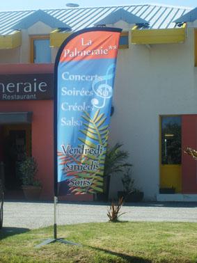 Création de voiles publicitaires (Brest)