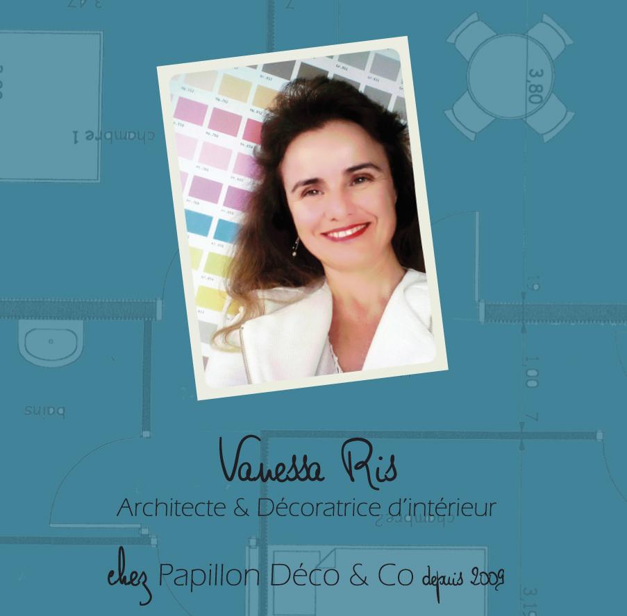 Vanessa Ris architecte et décoratrice d'intérieur